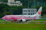 airhawk_oneさんが、福岡空港で撮影した日本トランスオーシャン航空 737-446の航空フォト(写真)