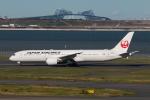 やつはしさんが、羽田空港で撮影した日本航空 787-9の航空フォト(写真)