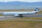 SKY☆101さんが、関西国際空港で撮影したキャセイパシフィック航空 A330-343Xの航空フォト(写真)