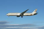 JA1118Dさんが、成田国際空港で撮影したエティハド航空 787-9の航空フォト(写真)