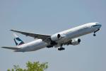 saoya_saodakeさんが、成田国際空港で撮影したキャセイパシフィック航空 777-367の航空フォト(写真)
