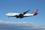 JA1118Dさんが、成田国際空港で撮影したデルタ航空 747-451の航空フォト(写真)