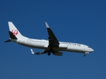 frankさんが、新石垣空港で撮影した日本トランスオーシャン航空 737-8Q3の航空フォト(写真)