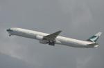 amagoさんが、香港国際空港で撮影したキャセイパシフィック航空 777-367の航空フォト(写真)