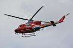 だいまる。さんが、岡山空港で撮影した岡山県消防防災航空隊 412EPの航空フォト(写真)