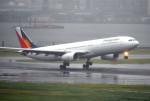 mojioさんが、羽田空港で撮影したフィリピン航空 A330-343Eの航空フォト(飛行機 写真・画像)