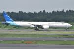 yugoさんが、成田国際空港で撮影したガルーダ・インドネシア航空 777-3U3/ERの航空フォト(写真)