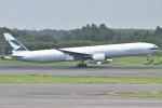 yugoさんが、成田国際空港で撮影したキャセイパシフィック航空 777-367の航空フォト(写真)