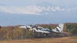 2かさんが、新千歳空港で撮影した航空自衛隊 F-15DJ Eagleの航空フォト(写真)