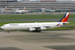 sarangさんが、羽田空港で撮影したフィリピン航空 A340-313Xの航空フォト(写真)
