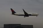 kikiさんが、成田国際空港で撮影したデルタ航空 767-3P6/ERの航空フォト(写真)
