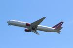 OMAさんが、岩国空港で撮影したオムニエアインターナショナル 767-328/ERの航空フォト(飛行機 写真・画像)