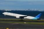 竜747さんが、羽田空港で撮影したガルーダ・インドネシア航空 777-3U3/ERの航空フォト(写真)