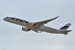 妄想竹さんが、香港国際空港で撮影したフィンエアー A350-941XWBの航空フォト(写真)