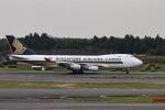 cherrywing787さんが、成田国際空港で撮影したシンガポール航空カーゴ 747-412F/SCDの航空フォト(写真)