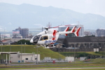 T.Sazenさんが、名古屋飛行場で撮影した朝日航洋 BK117C-2の航空フォト(飛行機 写真・画像)