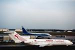 菊池 正人さんが、フランクフルト国際空港で撮影したチュニスエア 727-2H3/Advの航空フォト(写真)