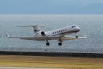yabyanさんが、中部国際空港で撮影したガルフストリーム・インターナショナル・エアラインズ G500/G550 (G-V)の航空フォト(飛行機 写真・画像)