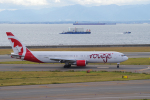 yabyanさんが、中部国際空港で撮影したエア・カナダ・ルージュ 767-35H/ERの航空フォト(写真)