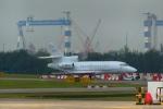 KAZKAZさんが、セレター空港で撮影したヤーリアン・ビジネスジェット Falcon 900DXの航空フォト(写真)