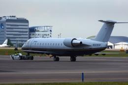 KAZKAZさんが、セレター空港で撮影したウィルミントン・トラスト・カンパニー CL-600-2B19 Regional Jet CRJ-100SEの航空フォト(飛行機 写真・画像)