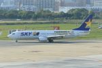 Gpapaさんが、福岡空港で撮影したスカイマーク 737-86Nの航空フォト(写真)