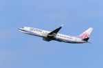MrMoricyanさんが、秋田空港で撮影したチャイナエアライン 737-8ALの航空フォト(写真)