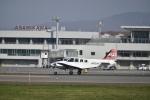 シャークレットさんが、旭川空港で撮影したジェイピーエー 58 Baronの航空フォト(写真)