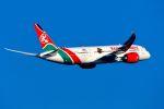 スワンナプーム国際空港 - Suvarnabhumi International Airport [BKK/VTBS]で撮影されたケニア航空 - Kenya Airways [KQ/KQA]の航空機写真