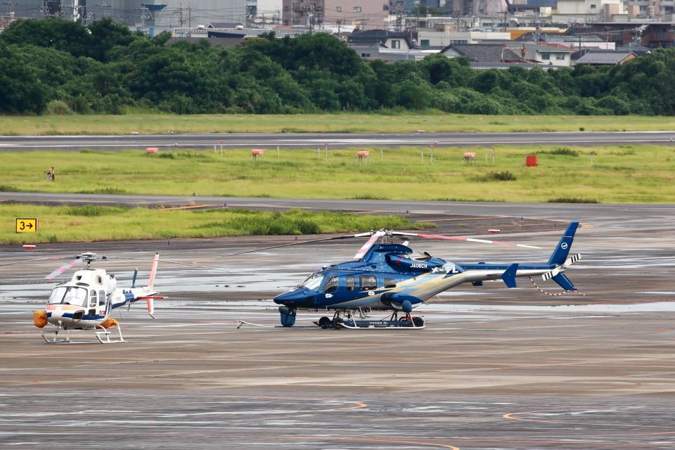 T.Sazenさんの中日本航空 Bell 430 (JA06CH) 航空フォト