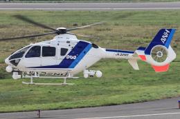 西風さんが、大館能代空港で撮影したオールニッポンヘリコプター EC135T2の航空フォト(飛行機 写真・画像)