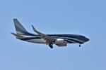 sonnyさんが、成田国際空港で撮影したケイマン諸島企業所有 737-7JW BBJの航空フォト(写真)