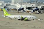 yabyanさんが、中部国際空港で撮影したソラシド エア 737-86Nの航空フォト(飛行機 写真・画像)