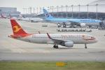 よしポンさんが、関西国際空港で撮影した天津航空 A320-214の航空フォト(写真)