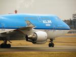 アイスコーヒーさんが、成田国際空港で撮影したKLMオランダ航空 747-406Mの航空フォト(飛行機 写真・画像)