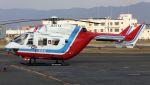 C.Hiranoさんが、八尾空港で撮影した山口県消防防災航空隊 BK117C-1の航空フォト(写真)