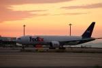 関西国際空港 - Kansai International Airport [KIX/RJBB]で撮影されたフェデックス・エクスプレス - FedEx Express [FX/FDX]の航空機写真