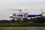 NIKKOREX Fさんが、群馬ヘリポートで撮影した福島県消防防災航空隊 412EPの航空フォト(写真)