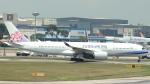 誘喜さんが、シンガポール・チャンギ国際空港で撮影したチャイナエアライン A350-941XWBの航空フォト(写真)