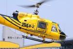 SAMBAR-2463さんが、群馬ヘリポートで撮影したアカギヘリコプター 204B-2(FujiBell)の航空フォト(写真)