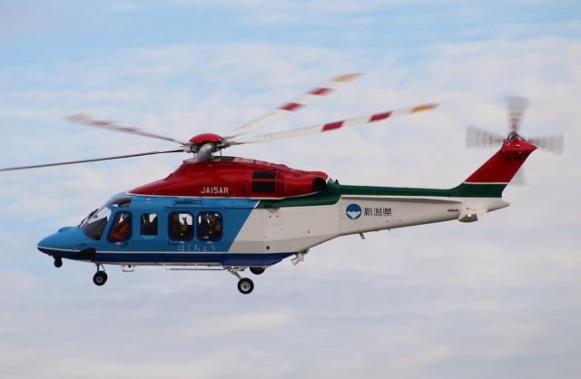 新潟県消防防災航空隊 AgustaWes...