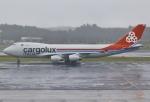 あしゅーさんが、成田国際空港で撮影したカーゴルクス・イタリア 747-4R7F/SCDの航空フォト(飛行機 写真・画像)