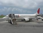 frankさんが、石垣空港で撮影した日本トランスオーシャン航空 737-4Q3の航空フォト(写真)