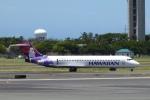 SIさんが、ダニエル・K・イノウエ国際空港で撮影したハワイアン航空 717-2BLの航空フォト(飛行機 写真・画像)