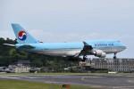 こじゆきさんが、済州国際空港で撮影した大韓航空 747-4B5の航空フォト(写真)