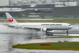 tsubasa0624さんが、羽田空港で撮影した日本航空 767-346/ERの航空フォト(飛行機 写真・画像)