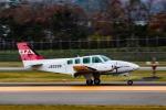 KAMIYA JASDFさんが、函館空港で撮影したジェイピーエー 58 Baronの航空フォト(写真)
