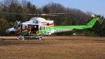 C.Hiranoさんが、青梅市で撮影した群馬県防災航空隊 412EPの航空フォト(写真)