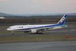 meijeanさんが、新千歳空港で撮影した全日空 777-281/ERの航空フォト(写真)