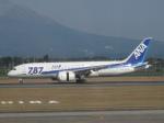 StarMarineさんが、鹿児島空港で撮影した全日空 787-8 Dreamlinerの航空フォト(写真)